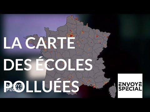 Nouvel Ordre Mondial - Envoyé spécial. La carte des des écoles polluées - 11 janvier 2018 (France 2)