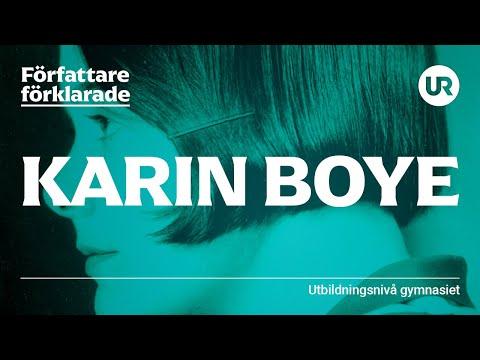 Karin Boye förklarad | SVENSKA | Gymnasienivå