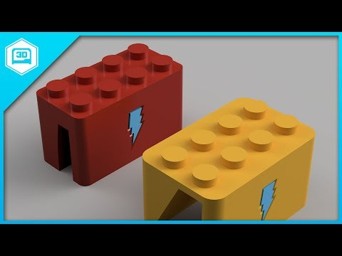 Fusion 360 Tutorial – Parametric Lego Parts
