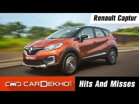 Renault Captur Hits & Misses