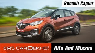 Renault Captur Hits & Misses