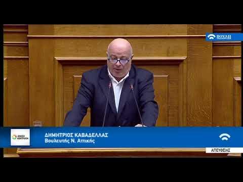 Δημήτρης Καβαδέλλας στη Βουλή (17-1-2019)