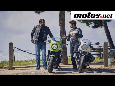BMW R nineT Racer vs Kawasaki Z900RS Cafe | Comparativo / Review en español | motos.net