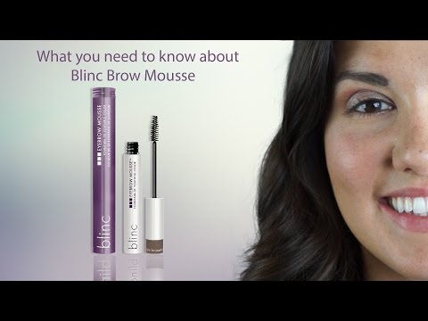 An easier way to shape your brows with blinc - English