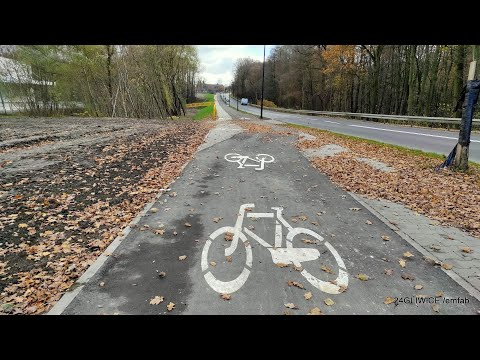 Testujemy nowy odcinek drogi rowerowej wzdłuż ul. Kozielskiej. Więcej takich inwestycji!