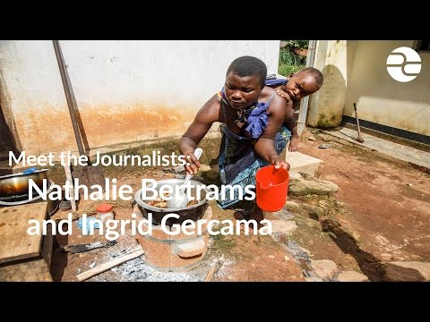 Meet the journalists: Nathalie Bertrams and Ingrid Gercama