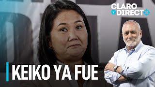 Keiko ya fue - Claro y Directo con Augusto Álvarez Rodrich