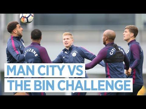 MAN CITY VS THE BIN CHALLENGE
