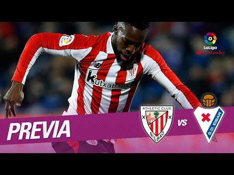 Previa Athletic Club vs SD Eibar