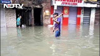 Several Parts Of Kolkata Waterlogged After Overnight Rain - NDTV