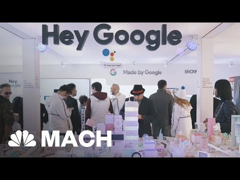 Google And Amazon's Smart Assistant Battle And Other Highlights From CES 2018 | Mach | NBC News