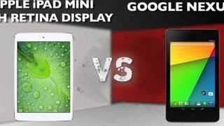 Prizefight - iPad Mini Retina vs. New Nexus 7