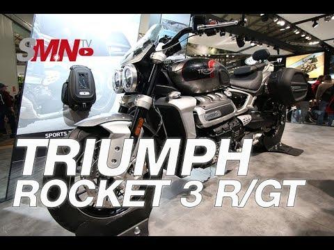 Triumph Rocket 3 R/GT 2020 - EICMA 2019 [FULLHD]