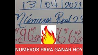 NUMEROS PARA HOY 13/04/2021 DE ABRIL PARA TODAS LAS LOTERIAS