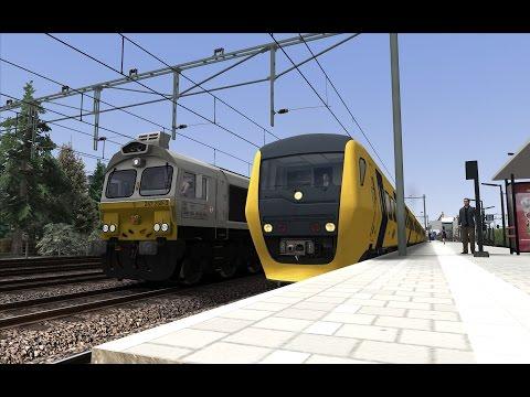 Train spotting at Hardeveld-Smilde | Fictiva 2.1 | Train Simulator 2017