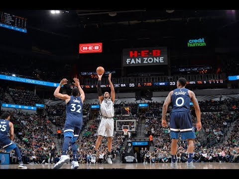 connectYoutube - Spurs Catch FIRE, Knock Down 19 Consecutive Field Goals!