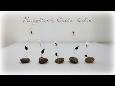 Nagellack Calla Lilie *DIY* Nail Polish Calla Lily