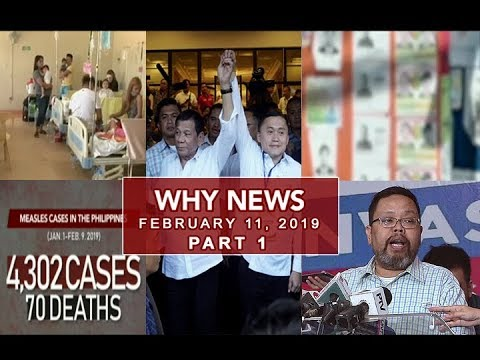UNTV: Why News (February 11, 2019) PART 1