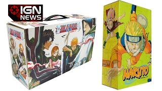 New Naruto And Bleach Manga Sets Are Coming - IGN News