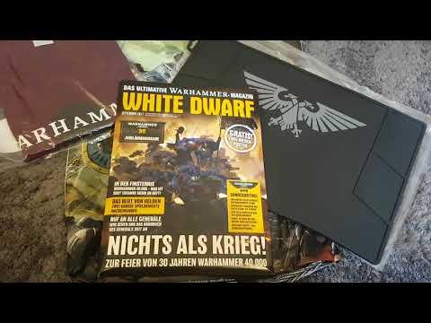 Warhammer / Tabletop für Anfänger HD★ White Dwarf/ Laden Geburtstag/Exclusive Artikel