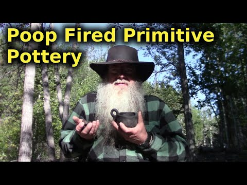 Firing Bushcrafted Primitive Pottery For Wilderness Survival