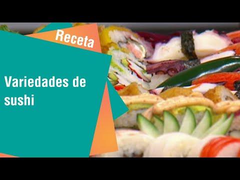 Sushi para deleitarse con su familia o amigos   Cocina