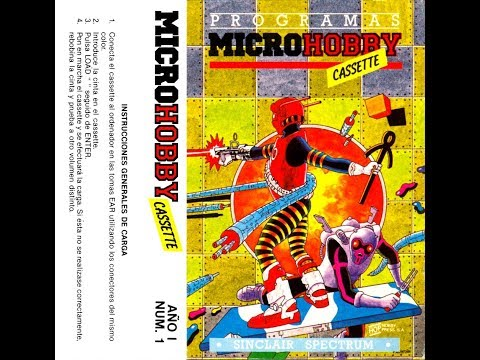 Microhobby Cassette número 1 + noticias del canal