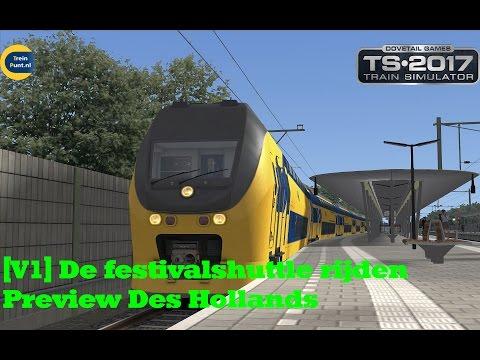 Preview Des Hollands Route | NS Virm | Train Simulator 2017