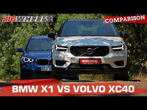 BMW X1 vs Volvo XC40   Small SUVs, Big Luxury?   Zigwheels.com