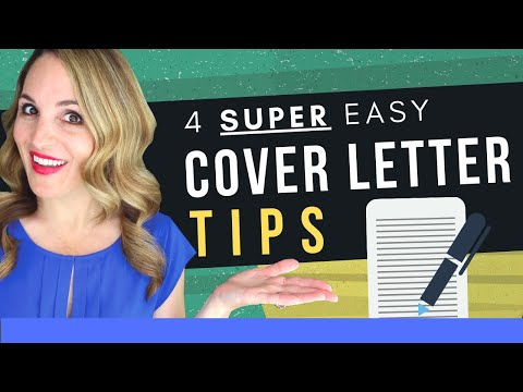 How To Write An INCREDIBLE Cover Letter In 2020 - Cover Letter Examples INCLUDED photo