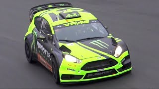 Valentino Rossi @ Monza Rally Show 2017 – Ford Fiesta RS WRC Shakedown!