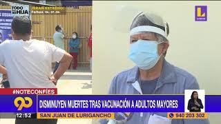 ???? Disminuyen muertes tras vacunación de adultos mayores - Latina noticias