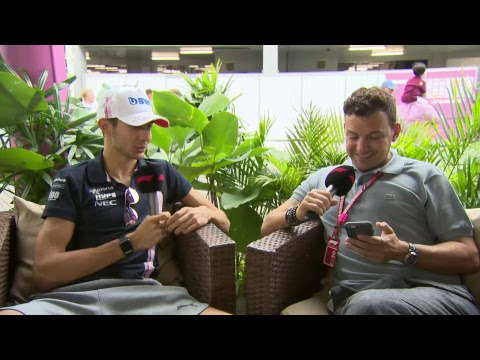 'I idolised Michael Schumacher' - Esteban Ocon Live Interview