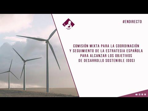 Comisión Mixta para coordinación y seguimiento de estrategia española ODS (12/11/2020)