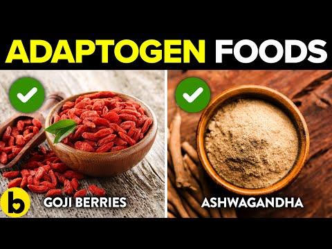 5 Adaptogen Foods That Help Reduce Your Stress