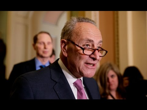 Chuck Schumer says he'll vote 'no' on Neil Gorsuch