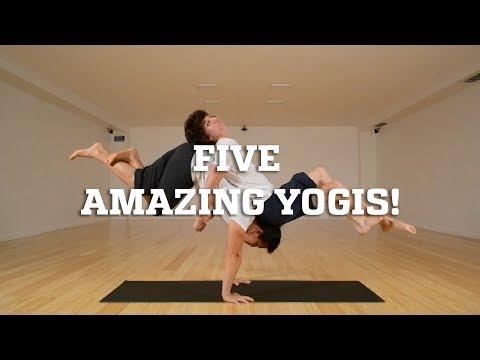 Five Amazing Yogis!