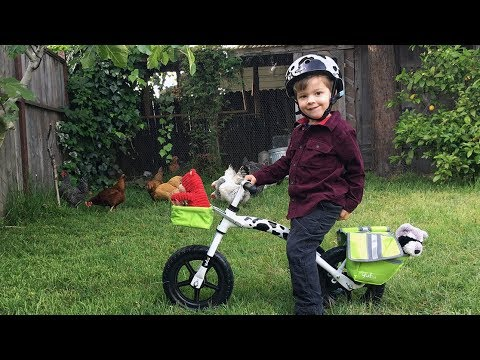 Flip Flop Balance Bike goes to an Urban Farm