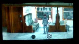 Harry Potter And The Half Blood Prince PSP Gameplay