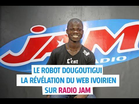 LE ROBOT Dougoutigui dans le Quart d'heure live de l'invité sur Radio JAM !!!