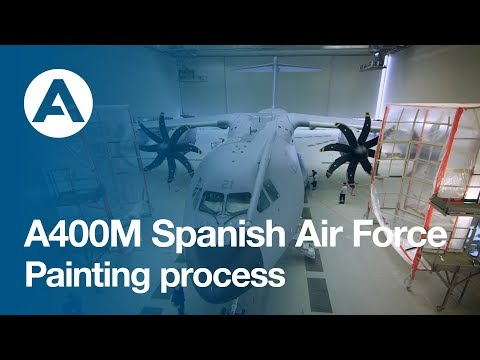 A400M Spanish Air Force Painting Process
