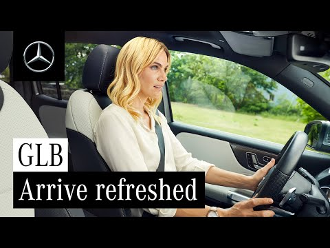 Arrive Refreshed | Interior Comfort in the New GLB