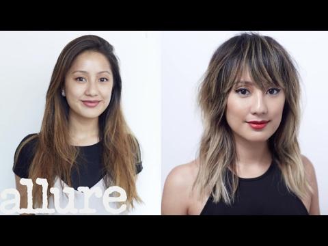 Chrissy Teigen-Inspired Hair Transformation | Hairstory Staff Makeover | Allure