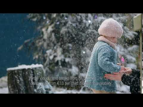 Center Parcs Longford Forest Winter Wonderland 10 second advert