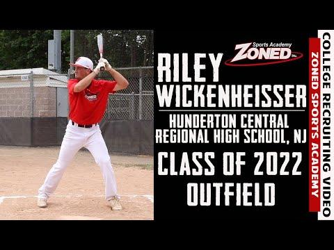 Riley Wickenheisser College Baseball Recruiting Video-Class of 2022