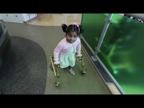 Selective Dorsal Rhizotomy Helps Girl with Cerebral Palsy Walk