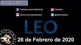 Horóscopo Diario - Leo - 26 de Febrero de 2020