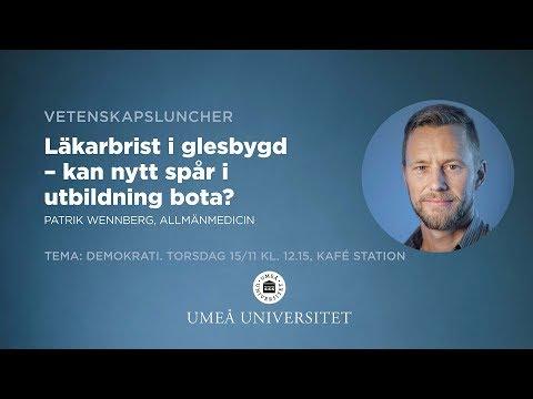 Livestream från Umeå universitet