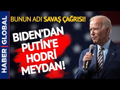 Putin Fena Halde Öfkelendi! Biden'dan 'Hodri Meydan' Hamlesi!
