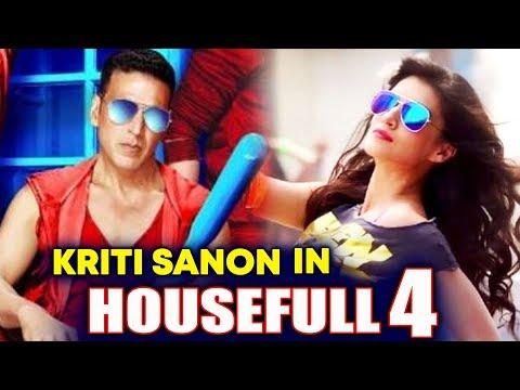 connectYoutube - It's OFFICIAL - Kriti Sanon In Akshay Kumar's HOUSEFULL 4